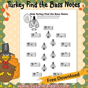 Identify Bass Clef Notes