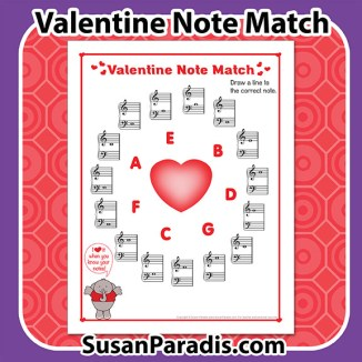 Valentine Note Match