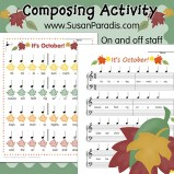 October Composing Activity