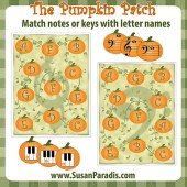 Pumpkin Patch Matching Game