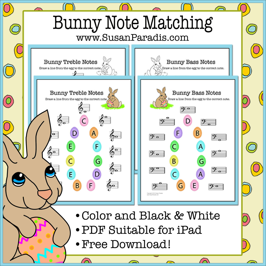 Easter Piano Worksheet Archives