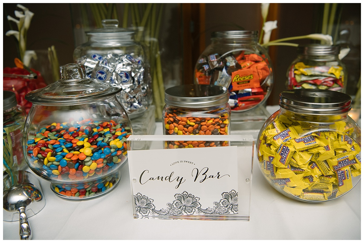 Various sweets for guests at Guastavinos in New York City.