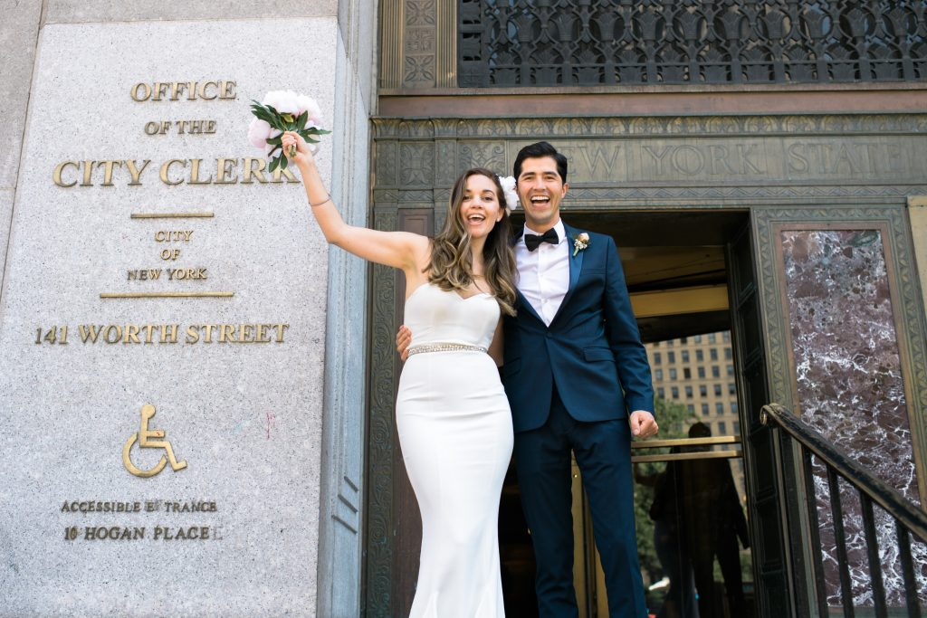 City Hall NYC Wedding Susan Shek