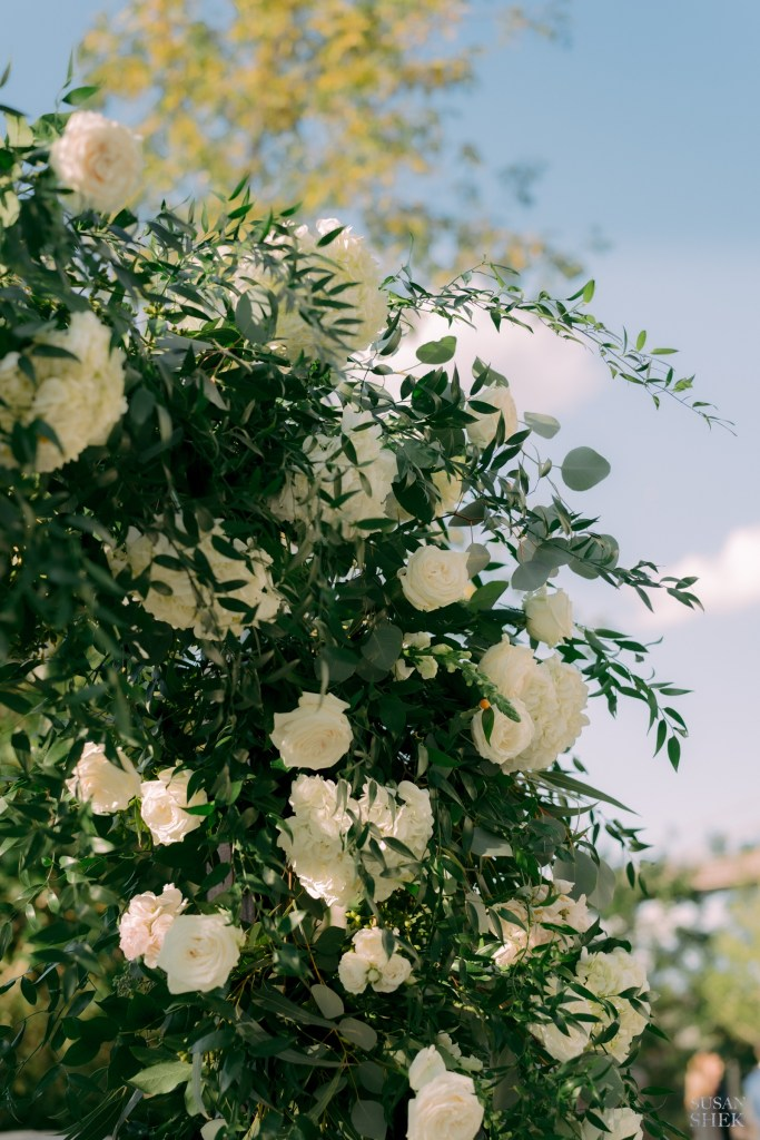 floral design by bride and blossom