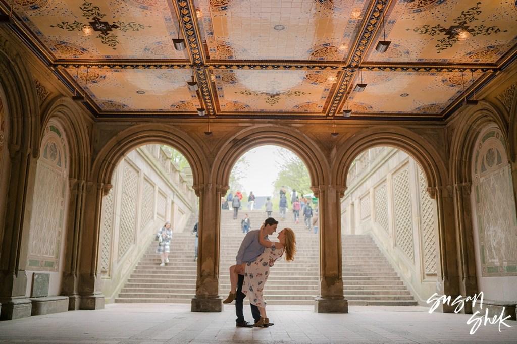Bethesda Terrace Engagement Shoot, NYC Engagement Photographer, Engagement Session, Engagement Photography, Engagement Photographer, NYC Wedding Photographer