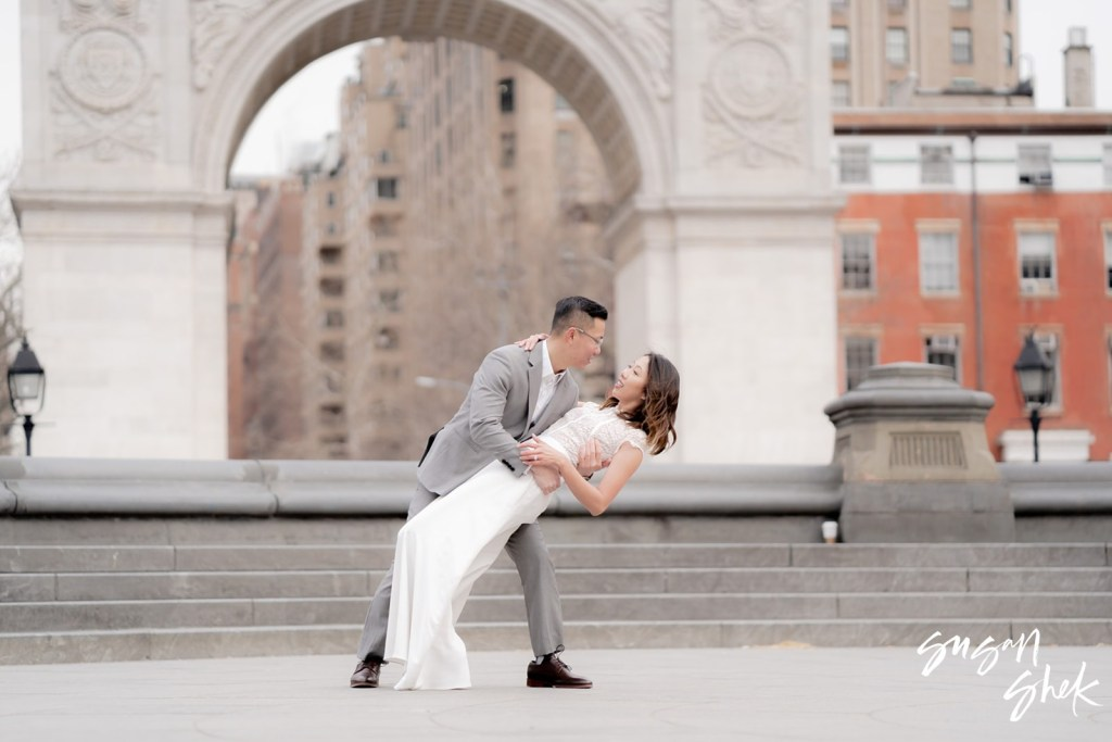 Washington Square Park Engagement Shoot, NYC Engagement Photographer, Engagement Session, Engagement Photography, Engagement Photographer, NYC Wedding Photographer