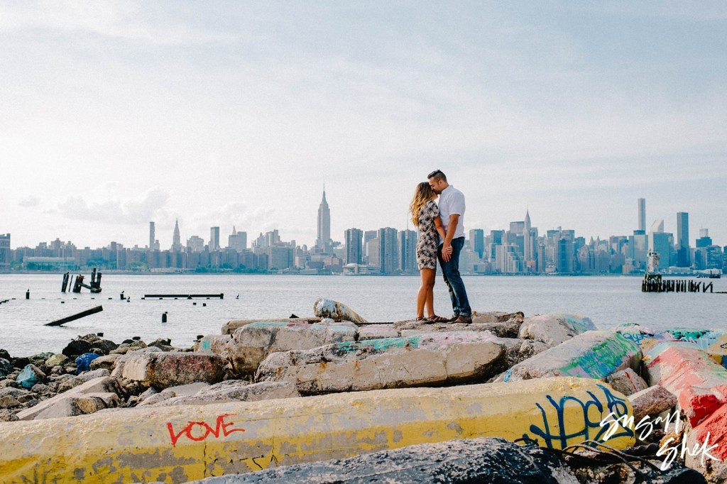 Bushwick Inlet Engagement Shoot, NYC Engagement Photographer, Engagement Session, Engagement Photography, Engagement Photographer, NYC Wedding Photographer