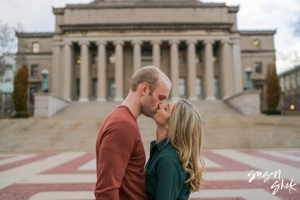 Columbia University Engagement Shoot, NYC Engagement Photographer, Engagement Session, Engagement Photography, Engagement Photographer, NYC Wedding Photographer