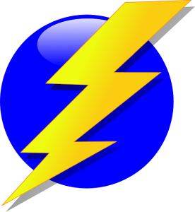 lightning bolt public domain