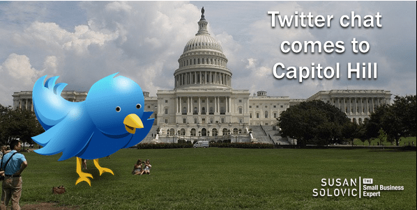 twitter chat capitol hill