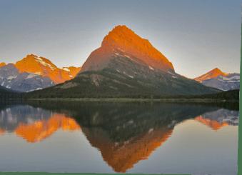 Glacier National Park Dawn