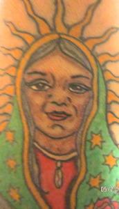 Crone Guadalupe Tattoo