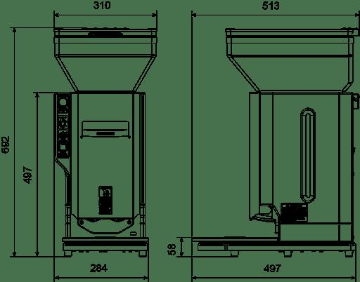 ASM 545 CE - SCHÉMA