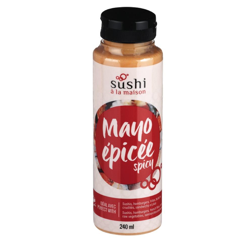 mayonnaise epicee sushi a la maison