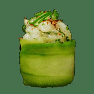 Gunkan ostión spicy