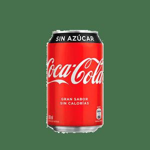 Lata Coca Cola Zero 350 cc