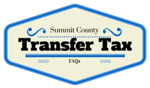 Summit County Transfer Tax FAQs