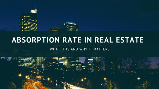 Absorption rate in Real estate
