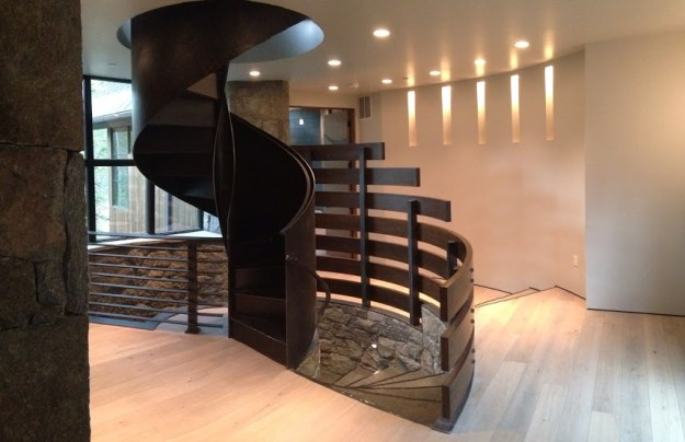 Sculptural stair at 65 Penn Lode