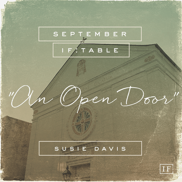 susie davis an open door