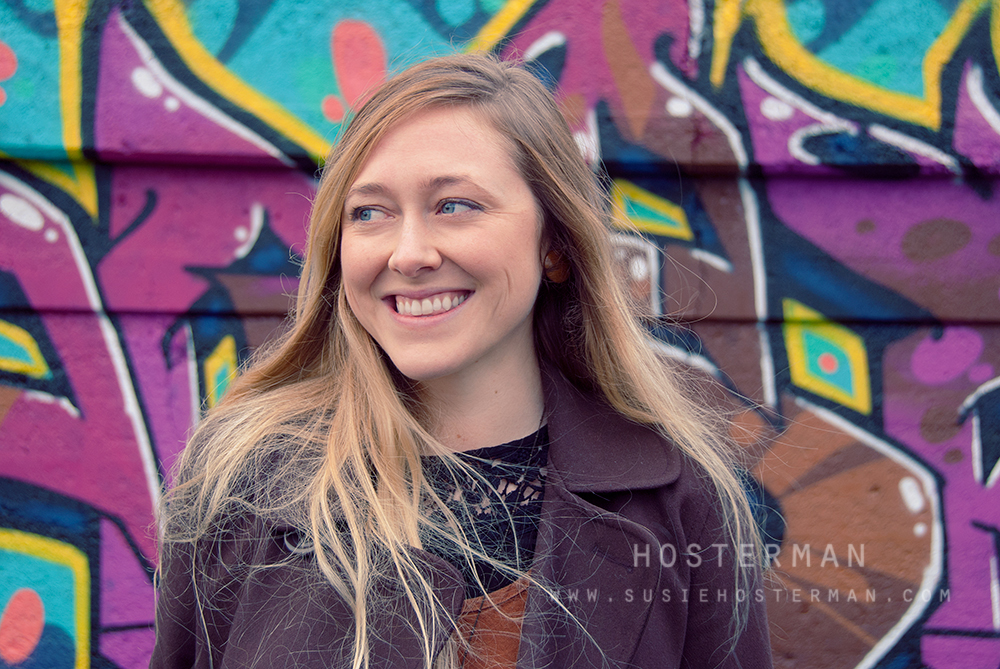 Share Your Spark: Graffiti Portraits with Sarah of Bennett Trails
