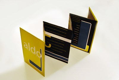 Eurostile Small Accordion Fold
