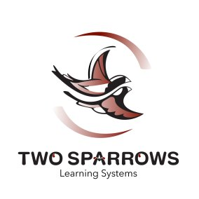 Two Sparrows Learning System Logo Design