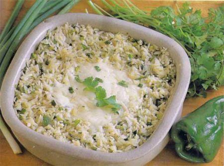 Mexican Green Rice (Arroz Verdi)