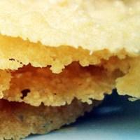 Parmesan Cheese Crisp Crackers