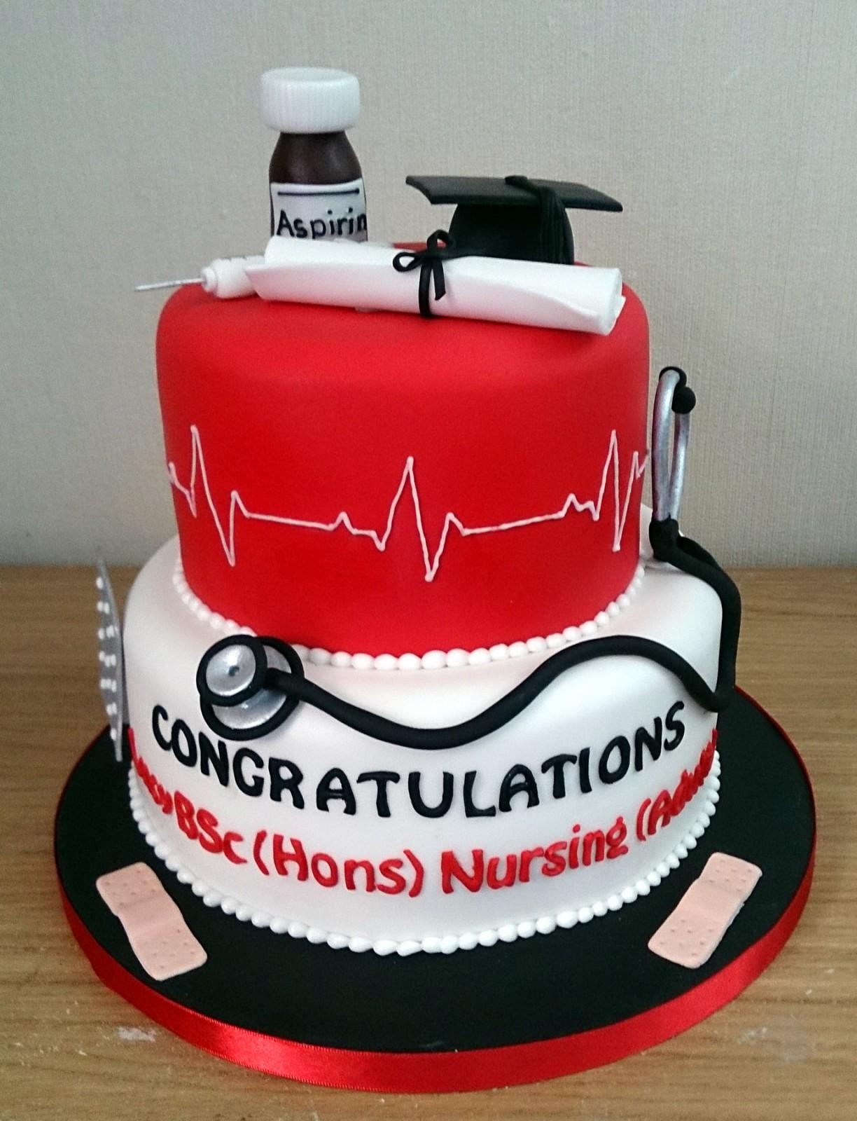 Nurses Graduation Cake Susie S Cakes