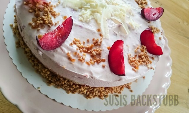 Pflaumen Schmand Torte Susis Backstubb