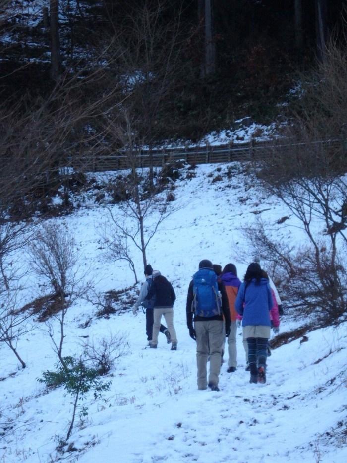奥多摩ハイキング,シカウサギ,愛宕山,愛宕神社