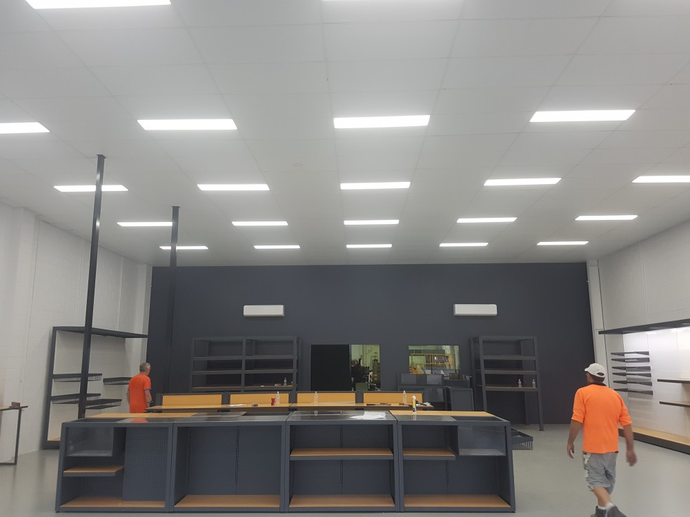Ceiling Fitout once Complete