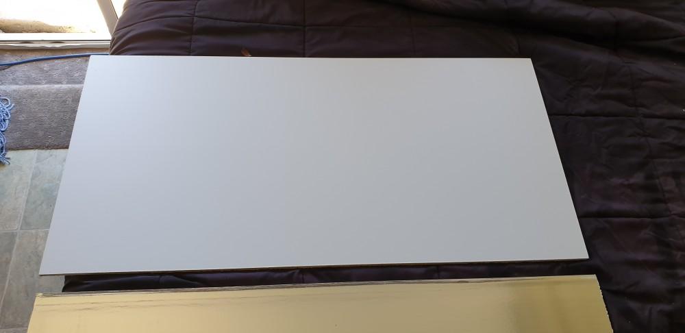 USG boral Nova Vinyl Plasterboard ceiling tile face