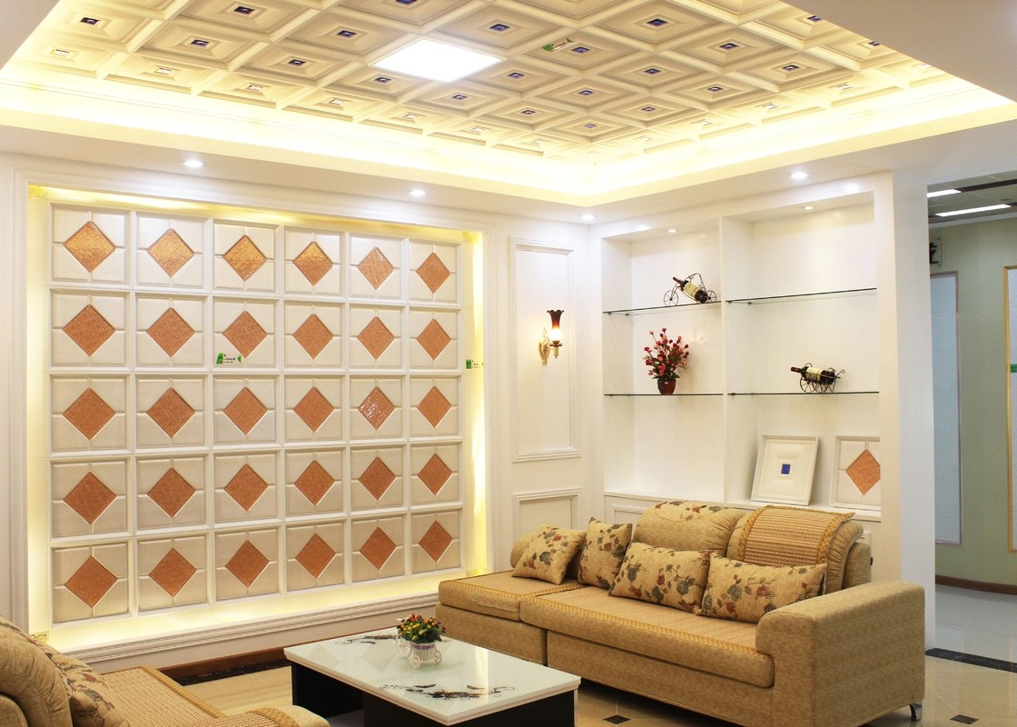 interior decorative ceiling panels