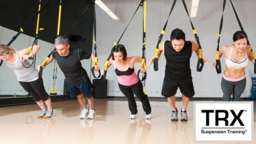 TRX suspension pushup exercises