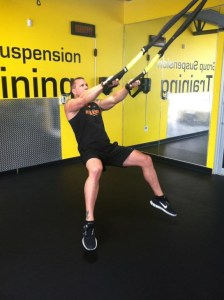 TRX Squat with Hop