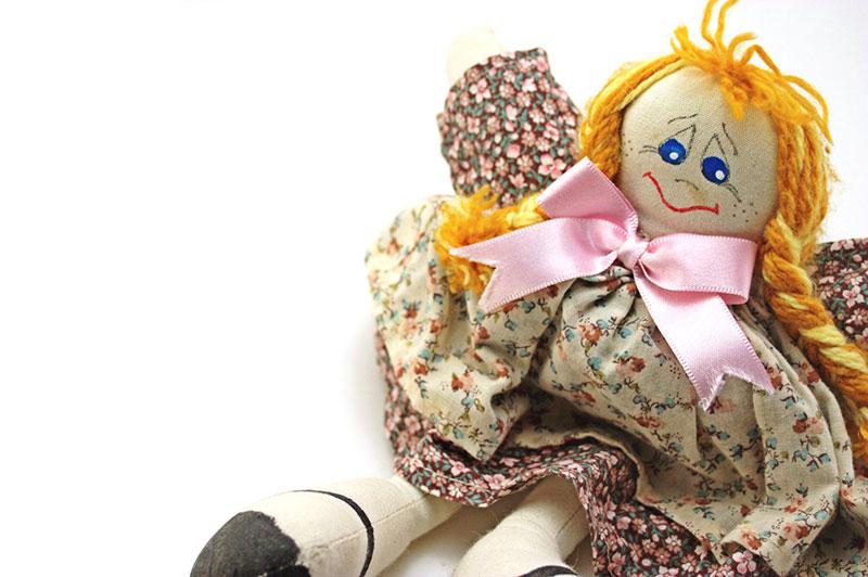 Homero Chapa, handmade doll
