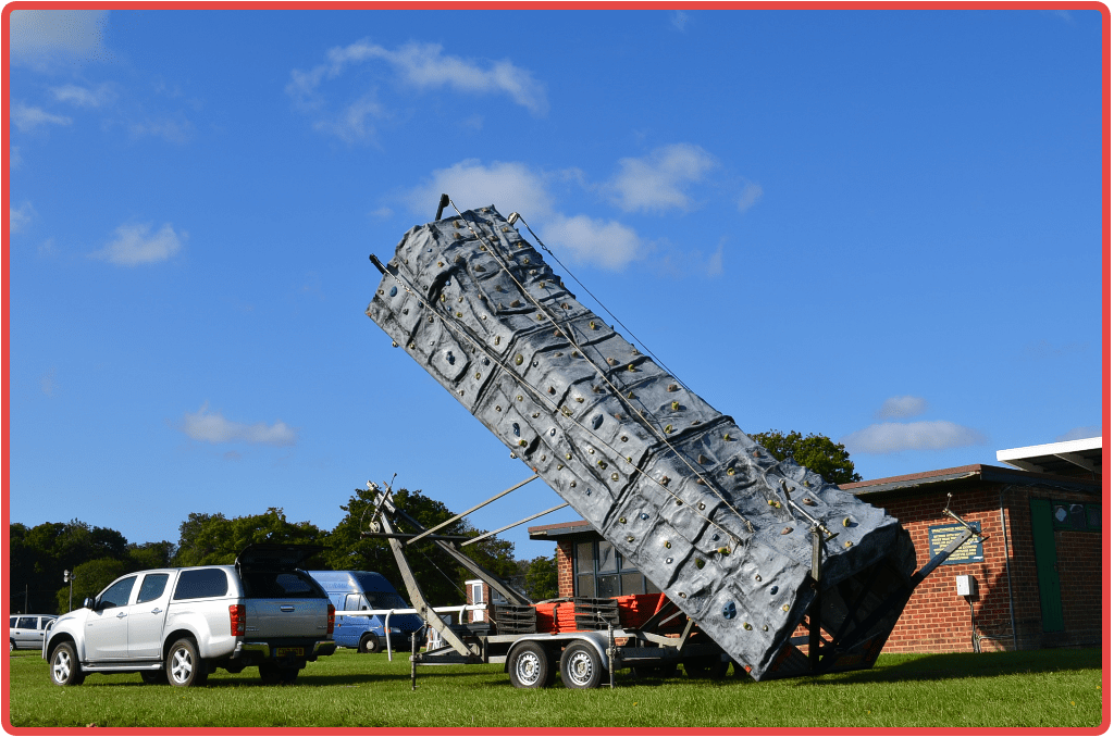 Mobile Climbing Wall by Altitude Events Ltd