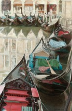 Venice Gondolas, Bacino Orseolo, Venezia