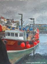 Mevagissey fishing boat 'Provider'