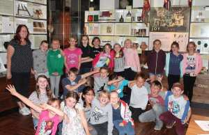 Last year's writing competition winners, Central School in Chichester