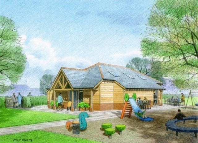 Fittleworth Shop and playground artist impression