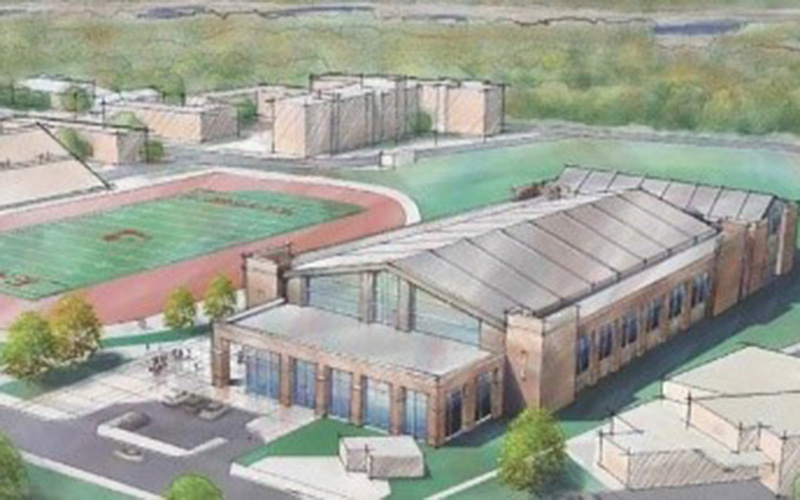 UWL Field House Rendering