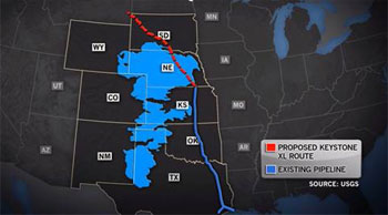 Tar Sands Keystone Route