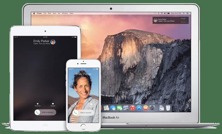 iOS 8 Continuity Calls