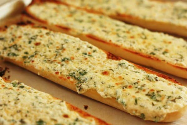 Image result for photos of garlic bread
