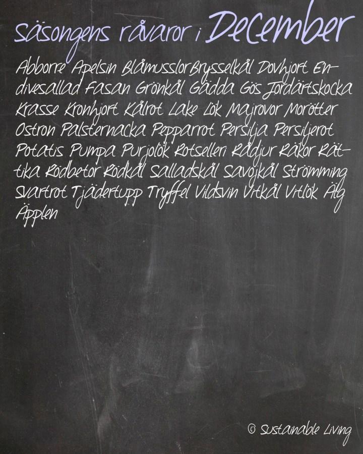 Chalkboard-background December