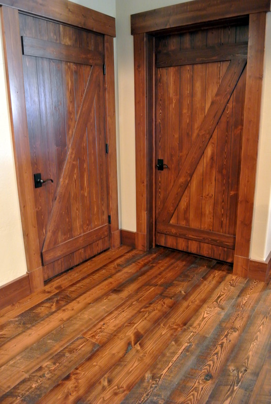 Hand Crafted Douglas Fir Doors Sustainable Lumber Company