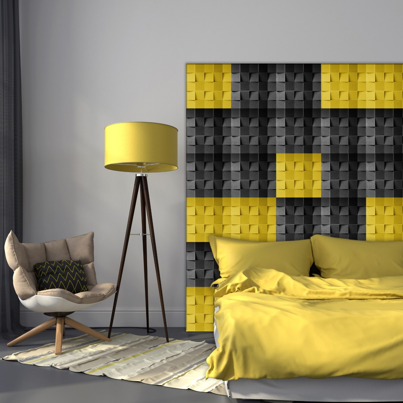 Minichock yellow black B